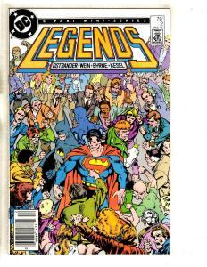12 Comics Legends 2 4 5 6 Aquaman 1 Kingdom Come 1 2 3 4 + Superman Magog ++ JC5