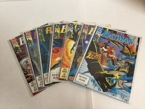 Batman 481 482 483 484 485 486 487 Lot Set Run Nm- Near Mint- DC Comics A18