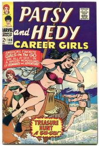 PATSY AND HEDY #108 1966-MARVEL SWIM SUITS- PAPER DOLLS VF