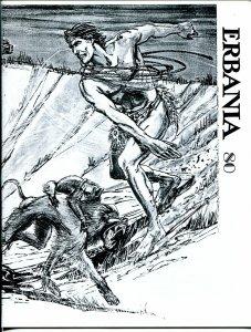 Erbania #80 1999 -Edgar Rice Burroughs-Tarzan-Harry Habblitz--info-pix- VG