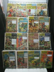 Classics Illustrated Edition Reader's Lot of 21Diff from #1-153 Dumas HG Wells