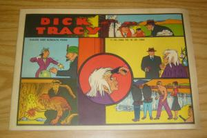 Dick Tracy Dailies and Sundays from 7-14-1940 to 10-20-1940 VF chester gould