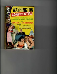 3 Books Washington Confidential Q As In Quicksand Cards on the Table JK8