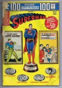 DC 100 Page Super Spectacular #18 ORIGINAL Vintage 1973 Superman