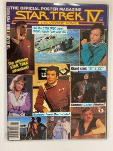 Star Trek IV The Voyage Home Poster Mag 6.0 FN (1986)