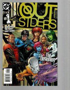 12 DC Comics Outsiders # 1 2 3 4 5 7 9 10 11 12 13 15 J438