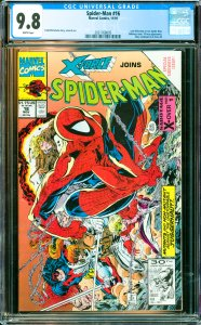 Spider-Man #16 CGC Graded 9.8 X-Force appearance. Story continued in X-Force #4
