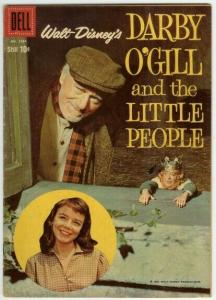DARBY OGILL AND THE LITTLE PEOPLE (1959) F.C.1024 VG-F COMICS BOOK