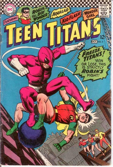 TEEN TITANS (1966) 5 VG   October 1966 COMICS BOOK
