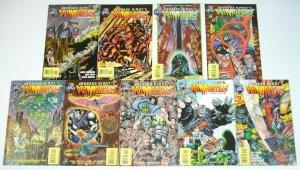 Leonard Nimoy's Primortals vol. 2 #0 & 1-8 VF/NM complete series comics set lot