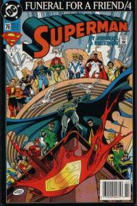 Superman (1987 series) #76, NM- (Stock photo)