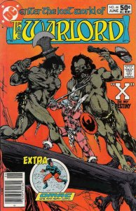 WARLORD #46, VF, Mike Grell, DC 1976 1981  more DC in store