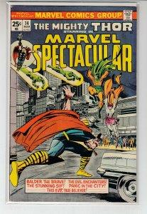 MARVEL SPECTACULAR (1973 MARVEL) #14 VG+ A47040