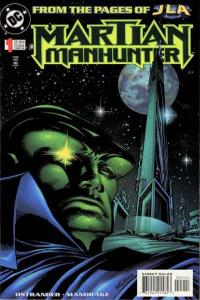 Martian Manhunter (1998 series) #1, VF (Stock photo)