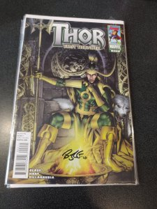 THOR FIRST THUNDER #2 SIGNED BY BRYAN J.L.GLASS (WRITER) WITH COA