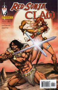 Red Sonja/Claw: Devil Hands #4 (Dynamite, 2006)