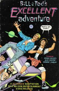 Bill & Ted's Excellent Adventure Movie Adaptation #1 FN; DC | save on shipping -