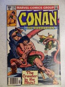 CONAN THE BARBARIAN # 116