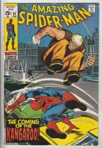 Amazing Spider-Man #81 (Feb-70) FN/VF Mid-High-Grade Spider-Man