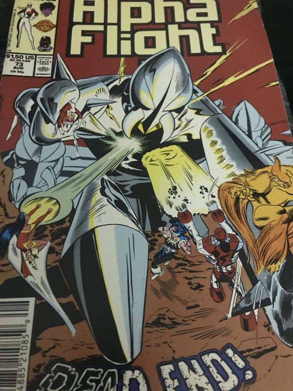 Marvel Alpha Flight #73 Mint