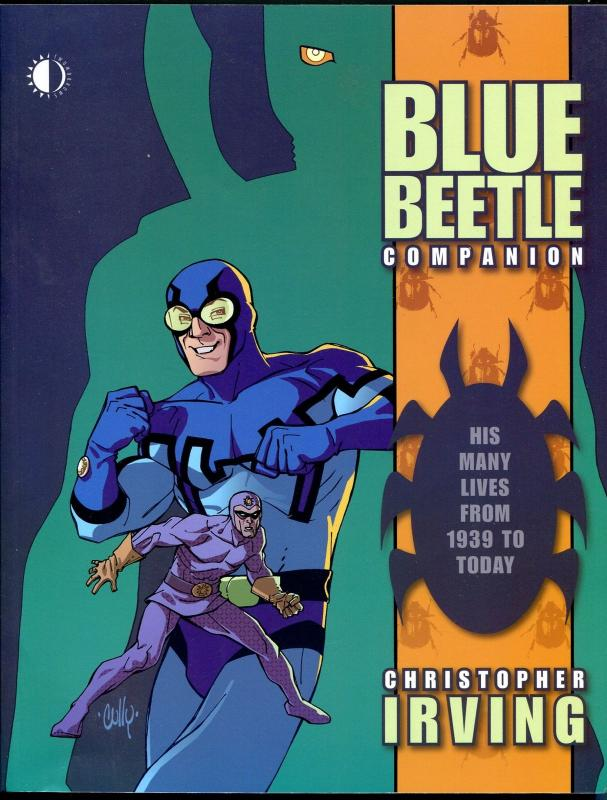 Blue Beetle Companion 2007-1st printing-Christopher Irving-125 pages-VF/NM