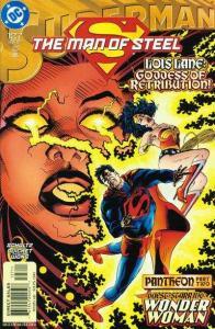 Superman: The Man of Steel #127, NM + (Stock photo)