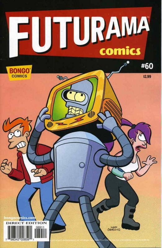 Futurama (Bongo) #60 VF; Bongo | save on shipping - details inside