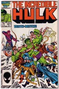 Incredible Hulk   vol. 1   #321 VG Milgrom, Avengers