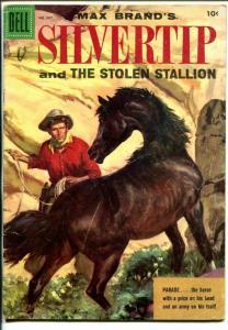 Silvertip-Four Color Comics #667 1955-Dell-Max Brand-Evrett Raymond Kinstler-VG