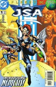 JSA #1 Annual, NM, Flash, 2000, Nemesis, Wonder Woman, HawkGirl, more in store