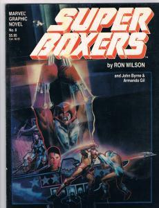 Marvel Graphic Novel Super Boxer # 8 TPB Marvel Comic Books Hi-Res Scans!!!!! T5