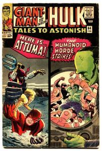 TALES TO ASTONISH #64 comic book-1965-HULK-SILVER AGE-MARVEL