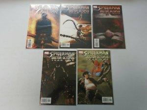 Spider-Man Doctor Octopus Year One set #1-5 8.0 VF (2004)