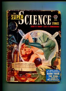 SUPER SCIENCE STORIES JANUARY 1951-POPULAR PUBLISHING-JOHN D. MACDONALD-G