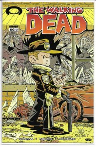 The Walking Dead #103 Chris Giarusso Variant.