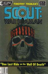 Scout: War Shaman #16 VF; Eclipse | save on shipping - details inside