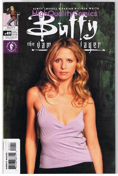 BUFFY the VAMPIRE SLAYER #49, NM+, Photo cv, Joss Whedon, 1998, more in store