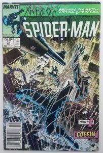 Web of Spider-Man 31 | Kraven Appearance Last Hunt |1985 | Newsstand | Marvel