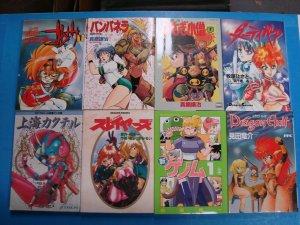 Japanese Manga Dirty Pair Flash Slayers Dragon Half Vampanera Viva Rabbit