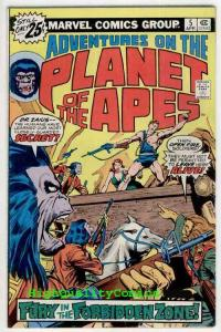 PLANET of the APES #5-6, Forbidden Zone, Jim Starlin, Charles Heston, Adventures