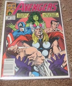 Avengers # 308 (Oct 1989, Marvel) thor captain america she hulk