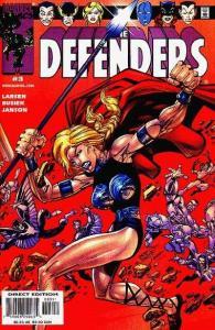 Defenders (2001 series) #3, NM (Stock photo)