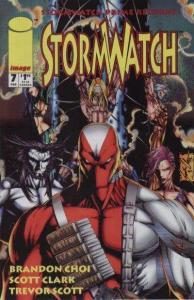 Stormwatch (1993 series) #7, NM + (Stock photo)