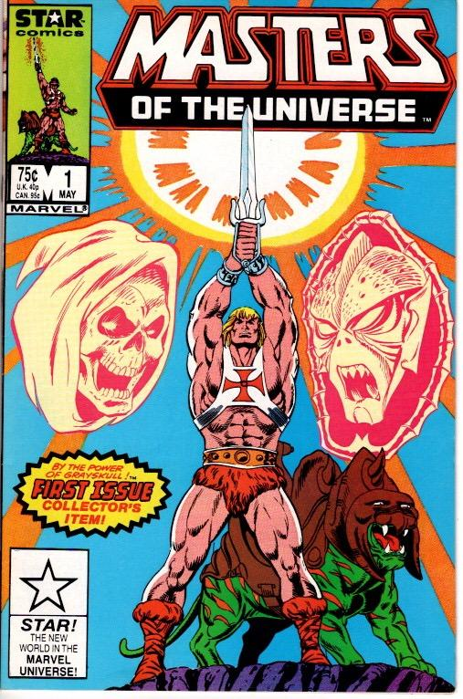 MASTERS OF THE UNIVERSE #1 STAR COMICS(MARVEL) NEAR MINT $20.00