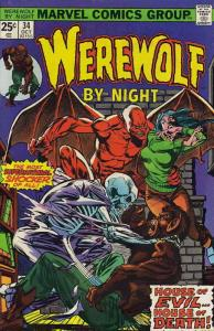Werewolf By Night #34 VG; Marvel | low grade comic - save on shipping - details