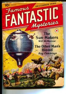 Famous Fantastic Mysteries-Pulps-12/1940-Ray Cummings-Will McMorrow