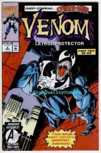 VENOM, LETHAL PROTECTOR #2, Spider-man, Bagley, NM+, more Marvel in store