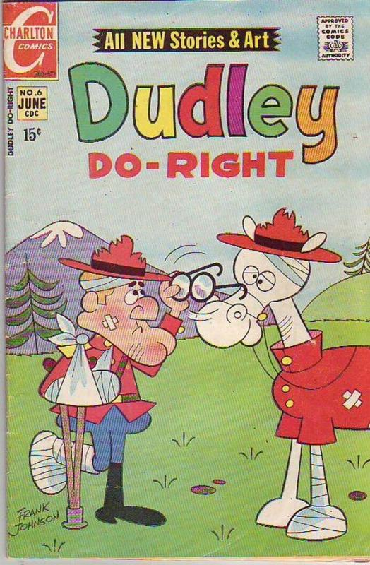 Dudley Do-Right #6 (Jun-71) FN Mid-Grade Dudley Do-Right
