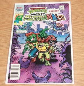 teenage mutant ninja turtles presents -Mighty Mutanimals #2 (Jun 1991, Archie)