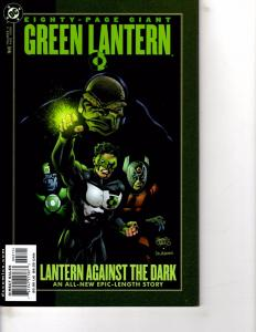 Lot Of 2 DC Comic Books Green Lantern 80-Page Giant #3 and Animal Man #62  ON13